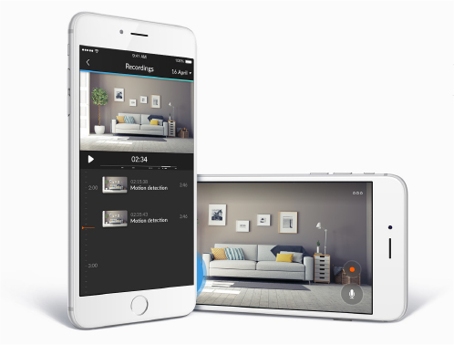Image of the Homewizard app
