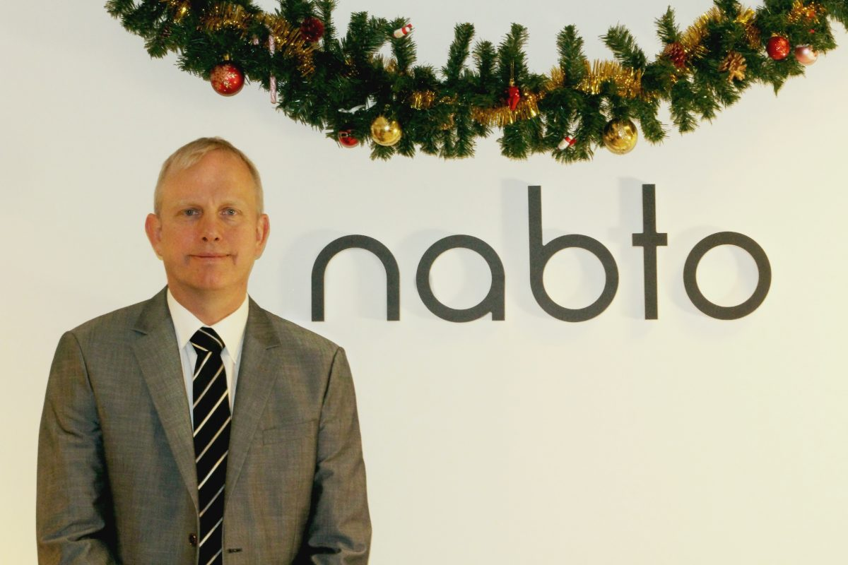 Picture of Nabto's CEO Carsten Gregersen for the christmas greetings