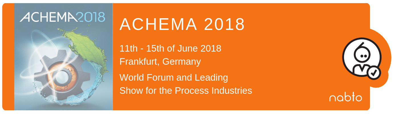 Image of Achema 2018 logo and titles
