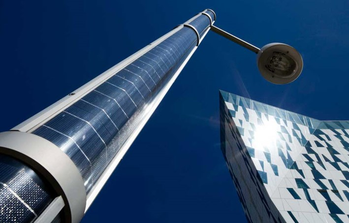Image of the TOUCHÉ solar column of Alfred Priess