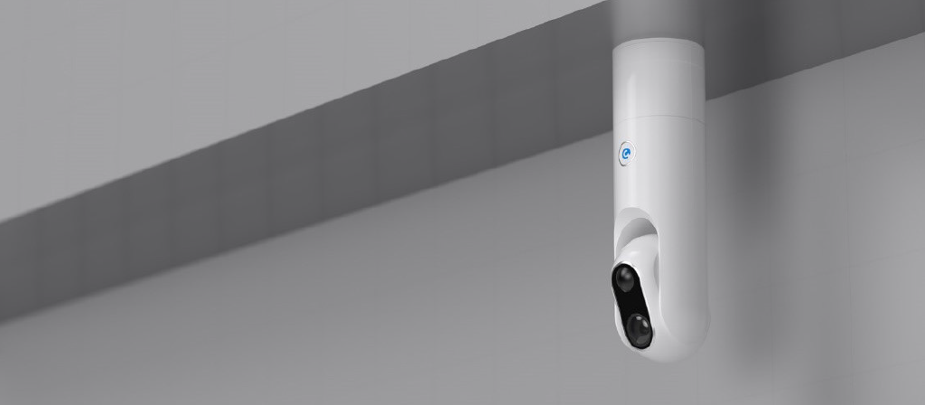 EyeCloud.ai camera on ceiling