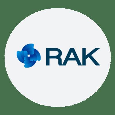 Logo of RAK, partner of Nabto
