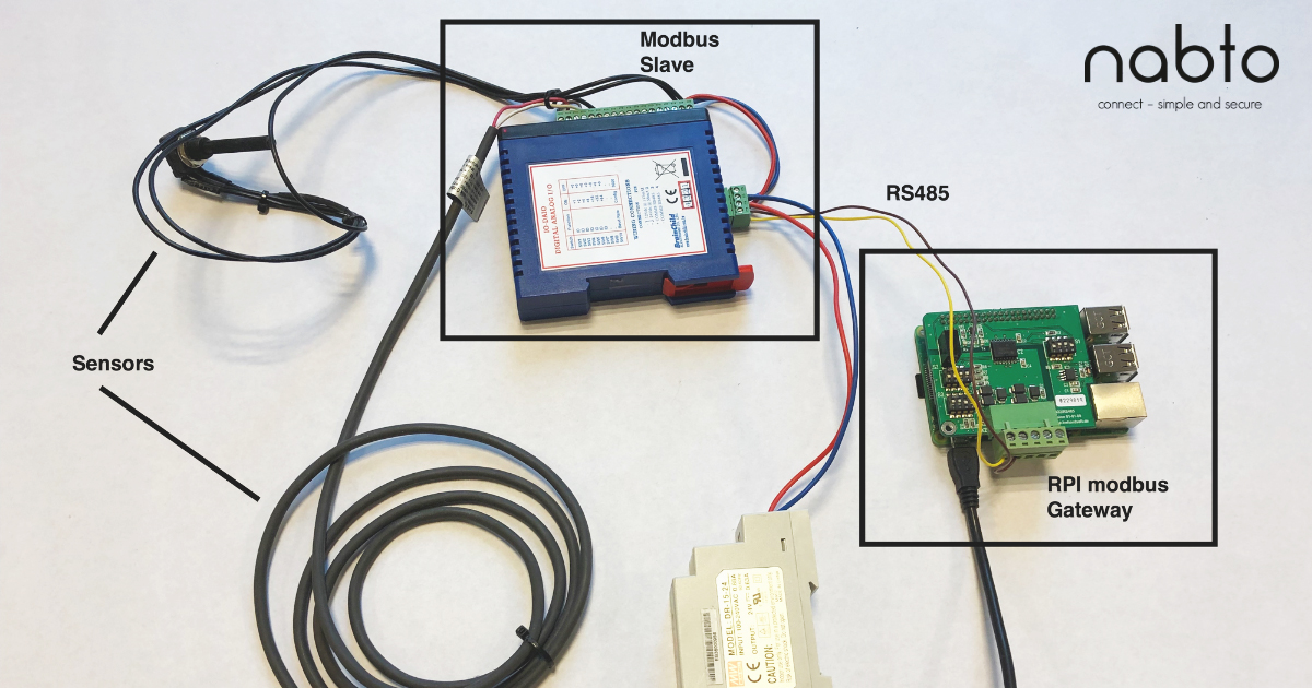 How to P2P remote control Modbus-based devices