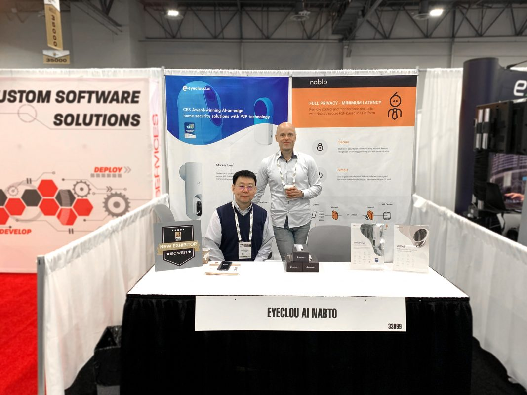 Image of Nabto and Eyecloud.ai at ISC WEST 2019