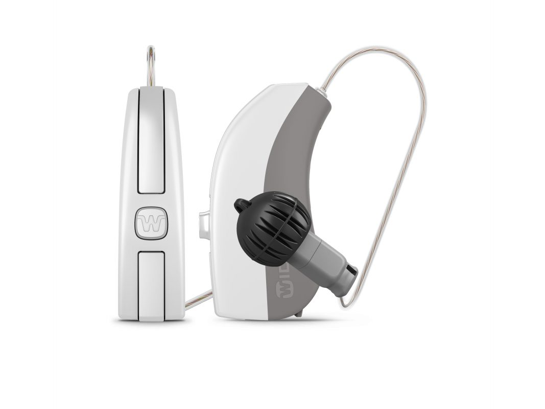 Image of Widex hearing aids with iot